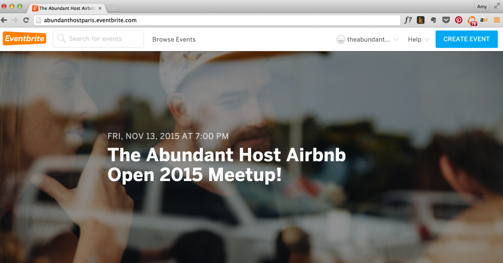 airbnb open meetup abundant host