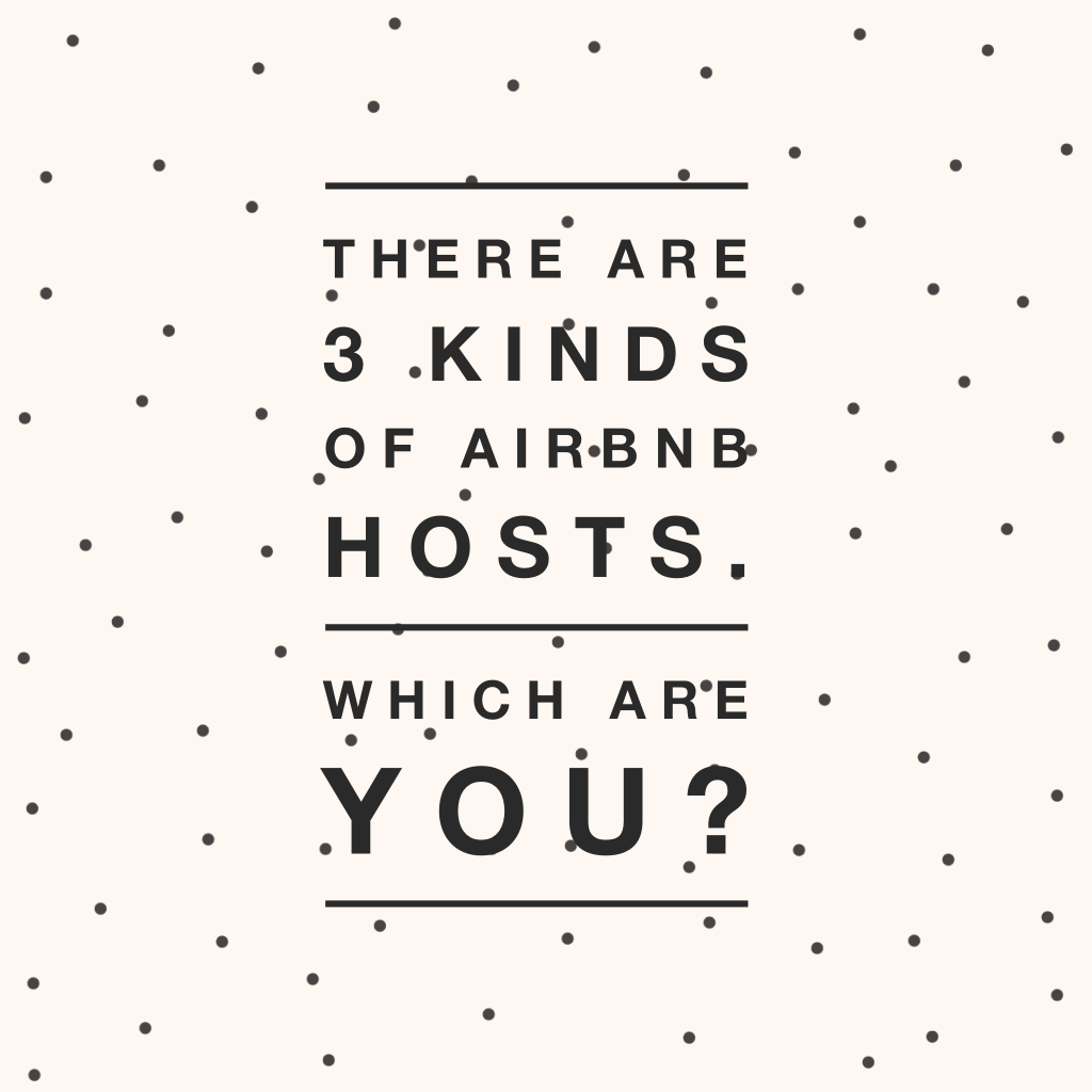 three kinds of hosts