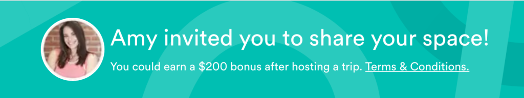 get 200 to start airbnb hosting